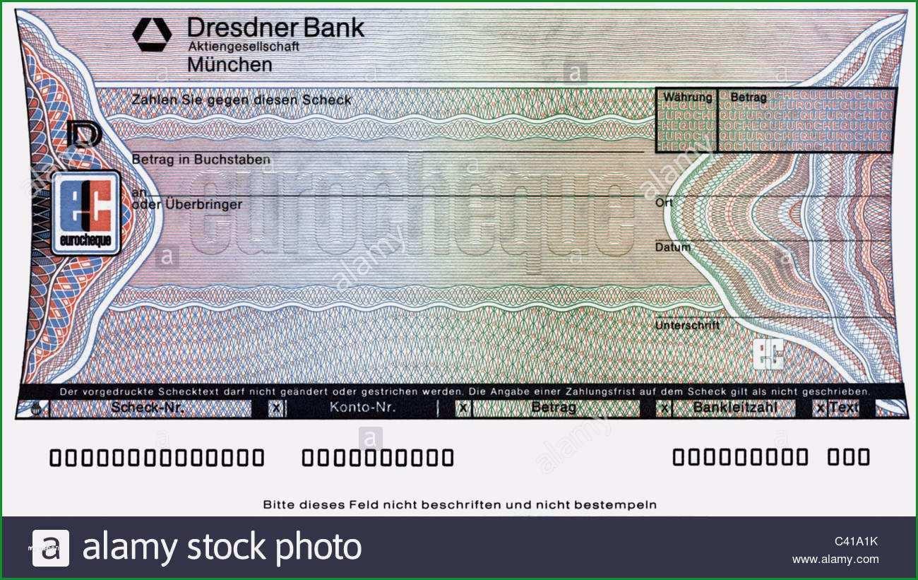 scheck vorlage zum ausdrucken erstaunlich geld eurocheque gedruckte form scheck scheck schecks