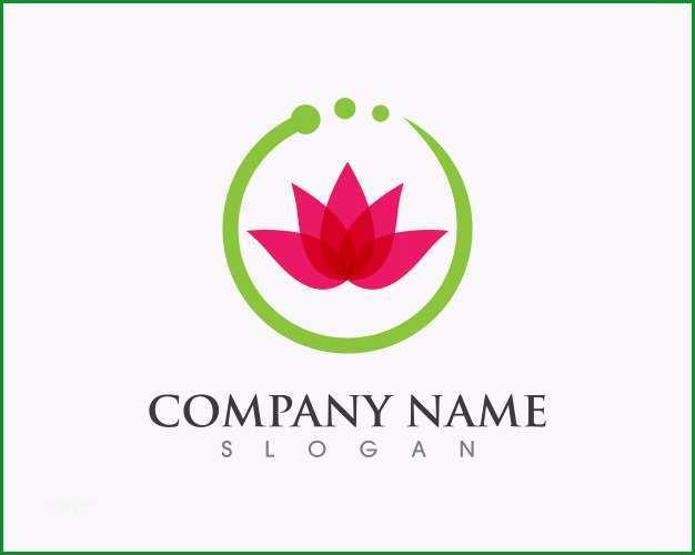 schonheitsblumen logo vorlage