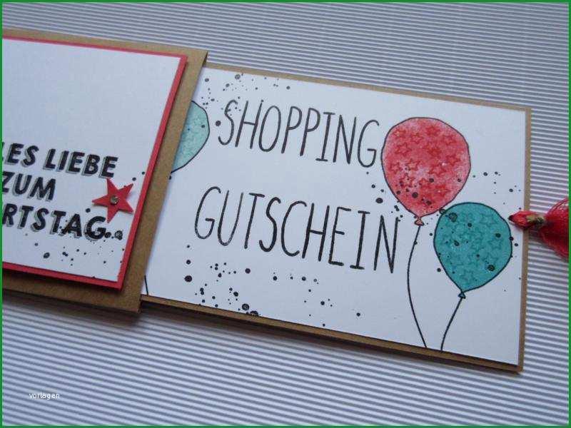 shopping gutschein
