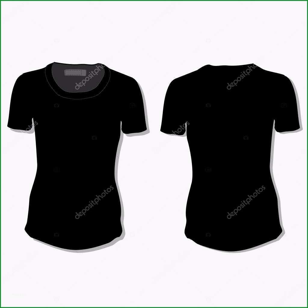 stock illustration black t shirt