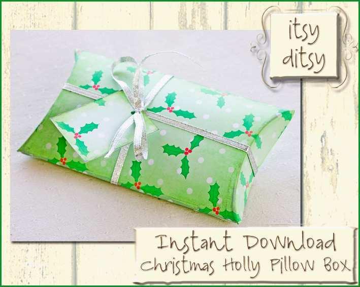 weihnachten geschenk box vorlage diy