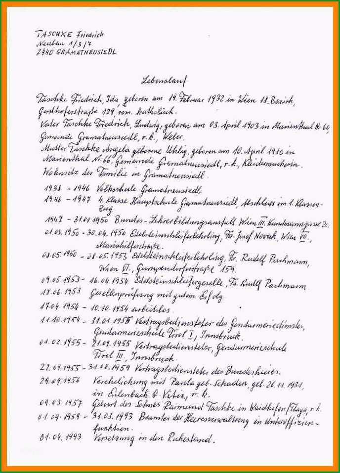 7 8 handschriftlicher lebenslauf einbrgerung auterive31handgeschriebener lebenslauf vorlage