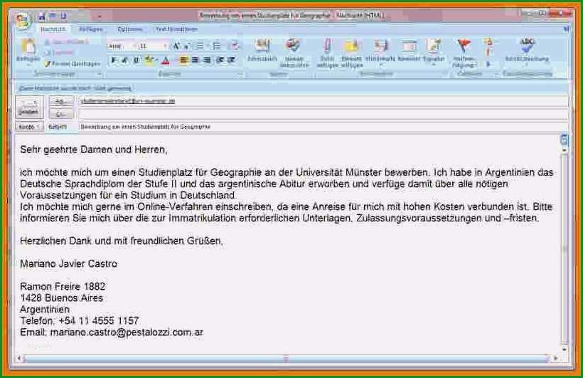 bewerbung per email vorlage gut 12 e mail bewerbung muster