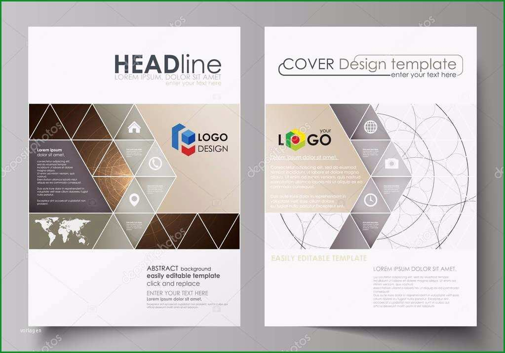 stock illustration business templates for brochure flyer