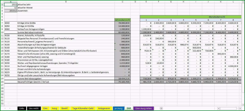 Einzahl Einnahmen Ausgaben Tabelle Vorlage Bezüglich Recent Excel