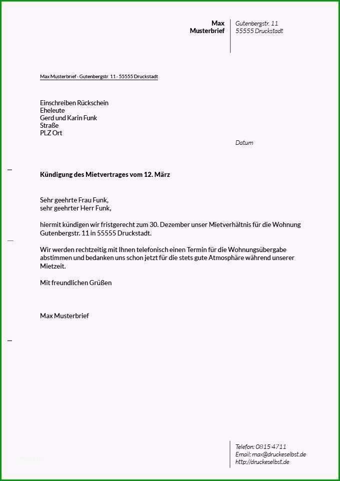 kundigung unitymedia vorlage pdf