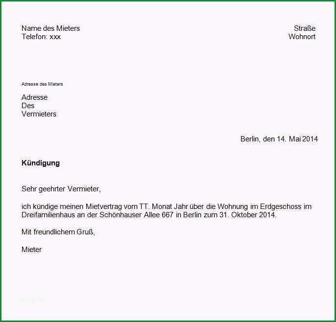 kundigung untermietvertrag vorlage kostenlos verschwenderisch kundigung mietwohnung vorlage kaution kundigung vorlage