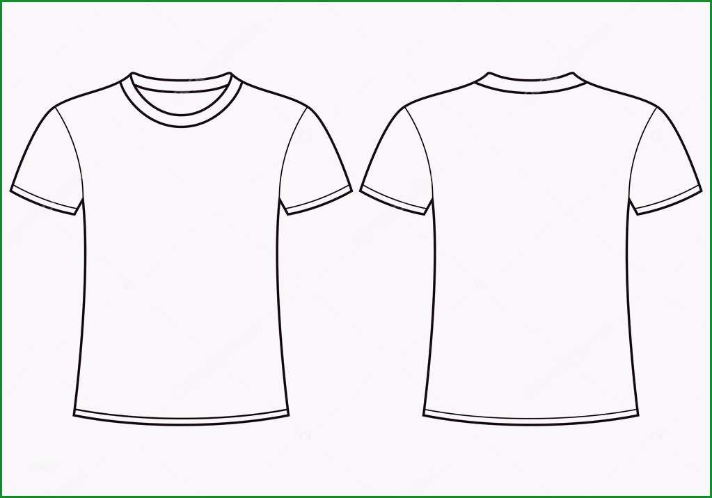 stock illustration blank t shirt templateck