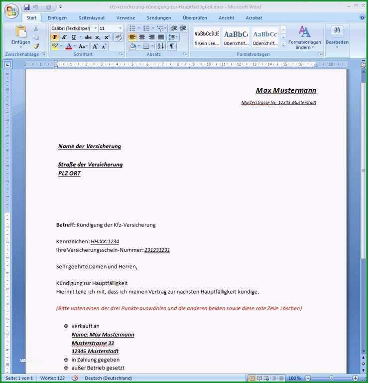 schriftliche vereinbarung arbeitszeitkonto vorlage neu kundigung vorlage word
