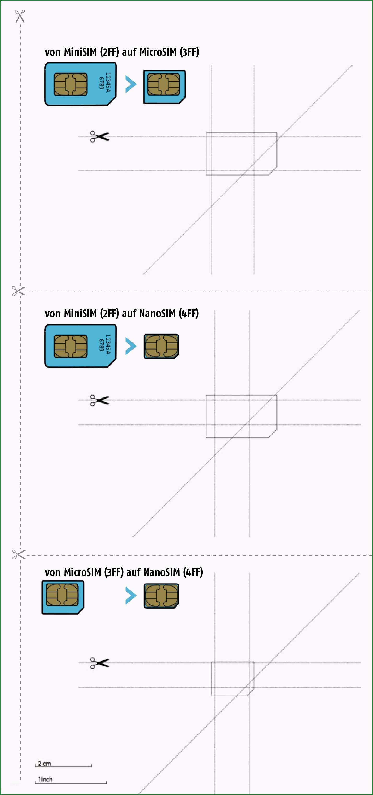 Selten Nano Sim Karte Vorlage Sie Berücksichtigen Müssen