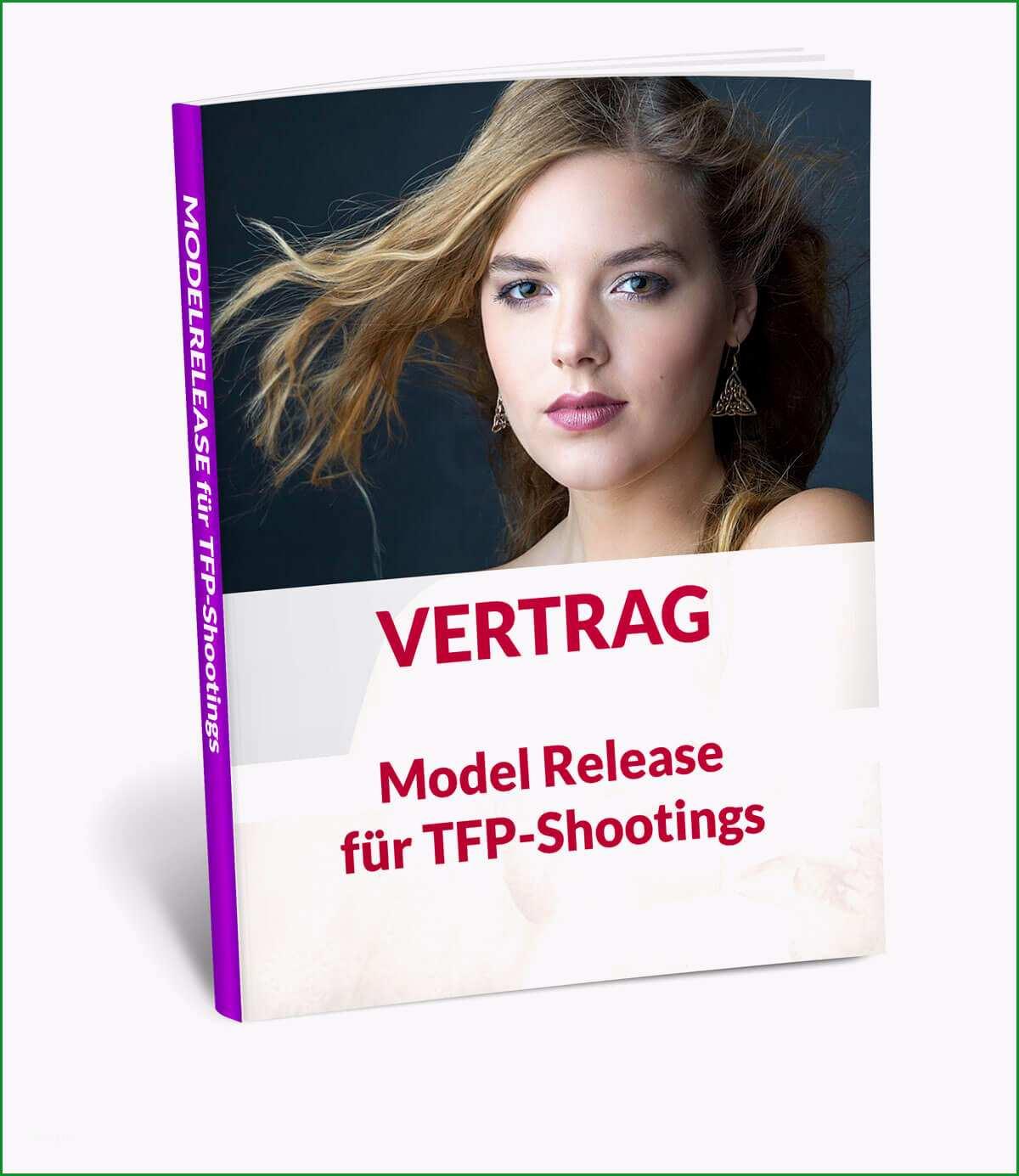 tfp vertrag model release
