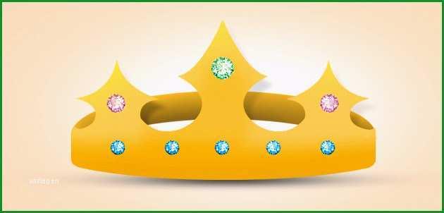 vorlage krone basteln