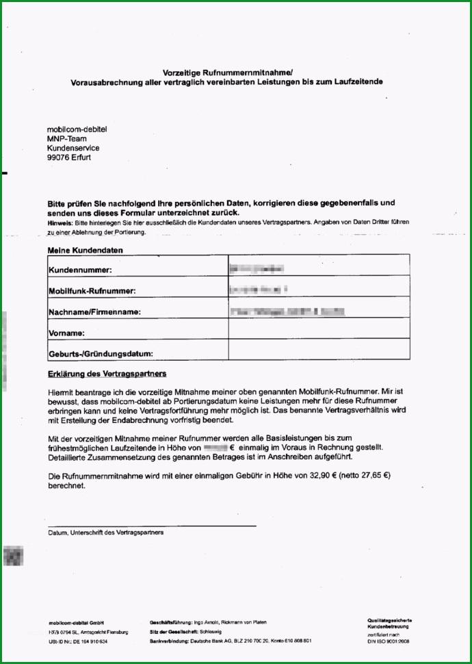 vorlage kundigung handyvertrag telekom frische kundigung debitel innerhalb handyvertrag auf rechnung
