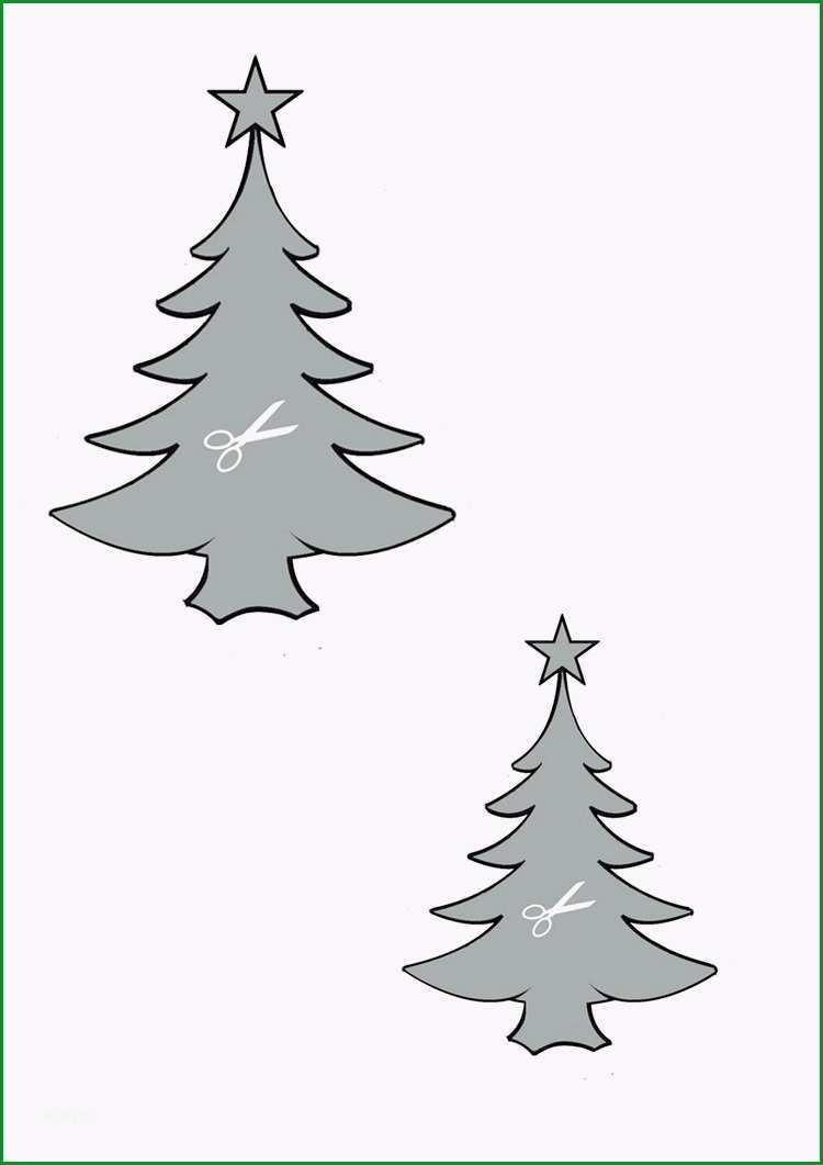 weihnachtsbaum vorlage pinterest new tannenbaum basteln papier
