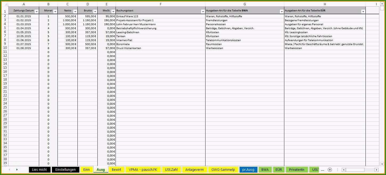 einnahmen ausgaben excel vorlage privat 6 ausgaben einnahmen tabelle