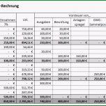 Erstaunlich Einnahmen Überschuss Rechnung EÜr Vorlage Zum Download