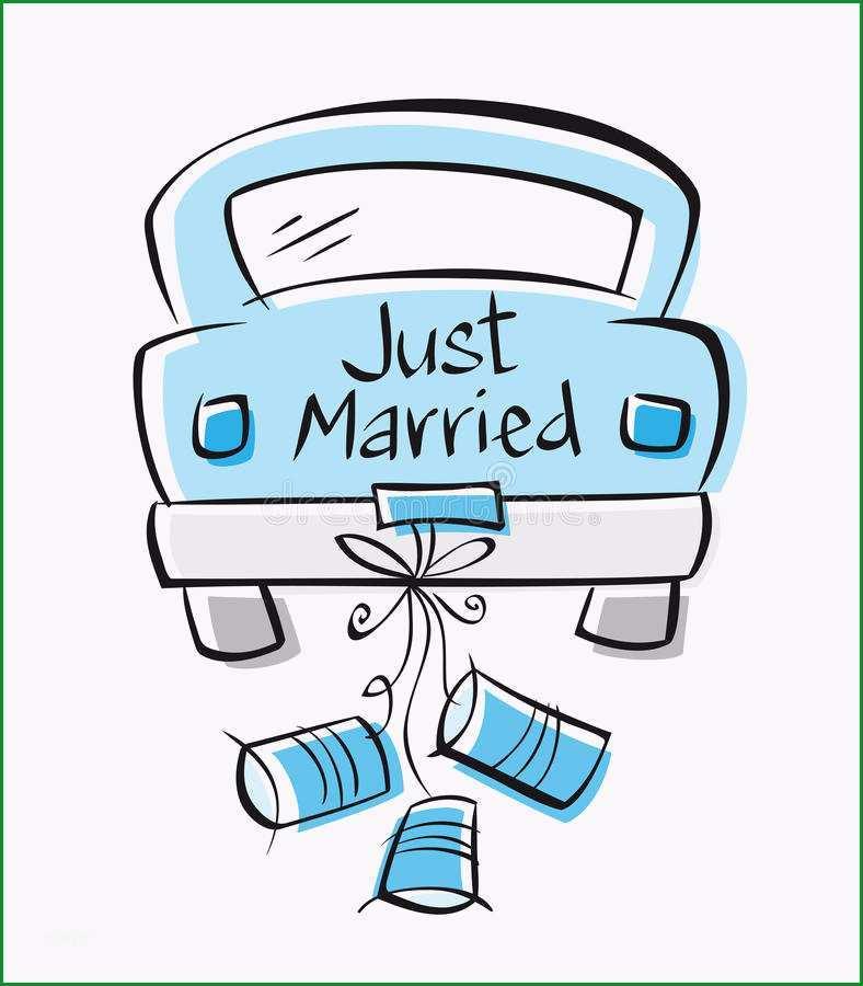 just married zum ausdrucken kostenlos