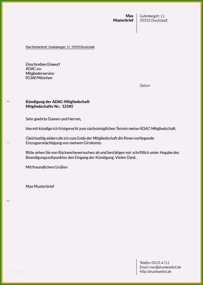 kundigungsschreiben versicherung vorlage gratis grosartig 12 kundigung schreiben