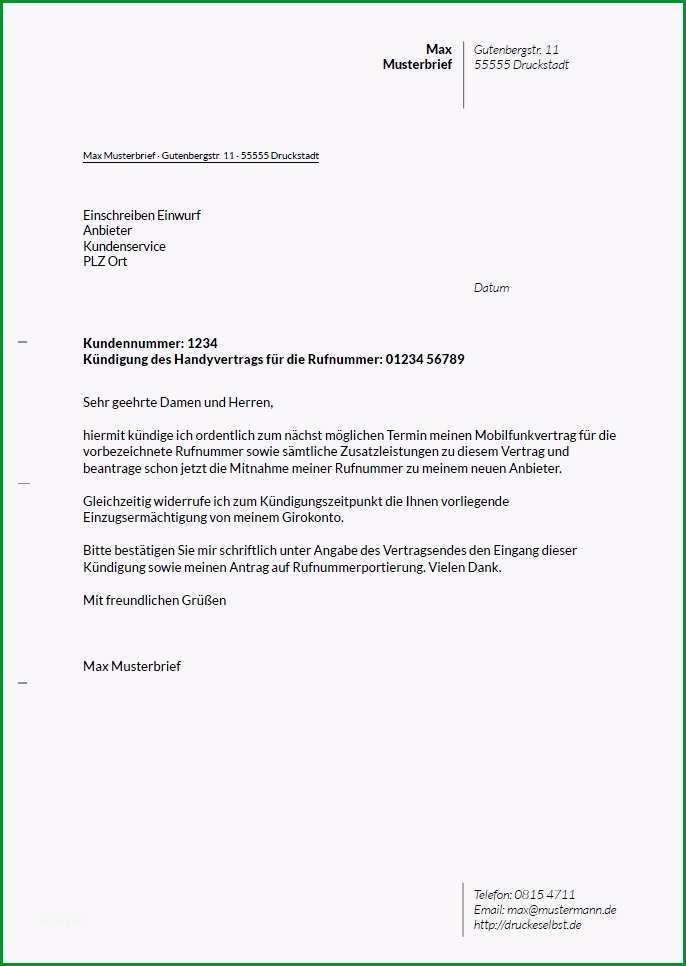 kundigungsschreiben versicherung vorlage inspiration 10 musterkundigung kfz versicherung