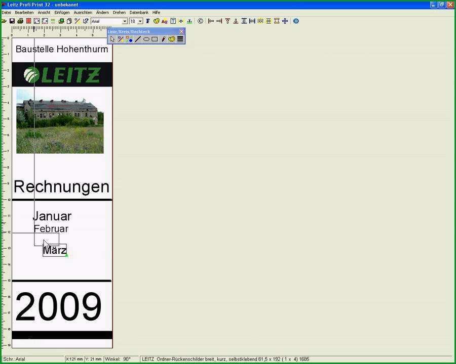 leitz register vorlage word