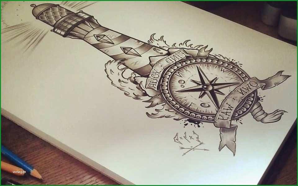 leuchtturm tattoo ein tattoo design mit dem sie jeden tag den licht finden