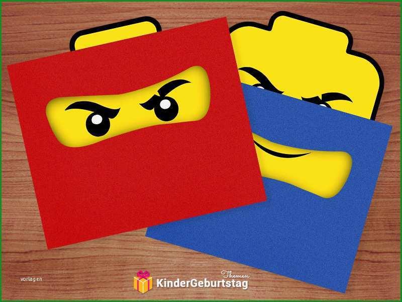 Ninjago Einladungskarten Zum Ausdrucken Geburtstag Einladung