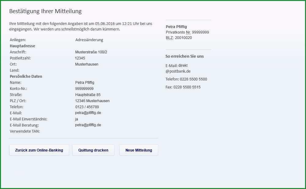 postbank kundigen vorlage widerruf versicherung vorlage fabelhaften abmahnung 6