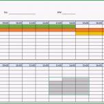 Erstaunlich Praktische Dienstplan Excel Vorlage Kostenlos Herunterladen