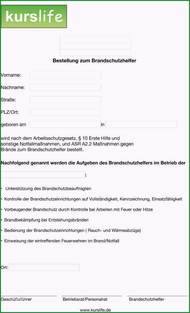 brandschutzhelfer training