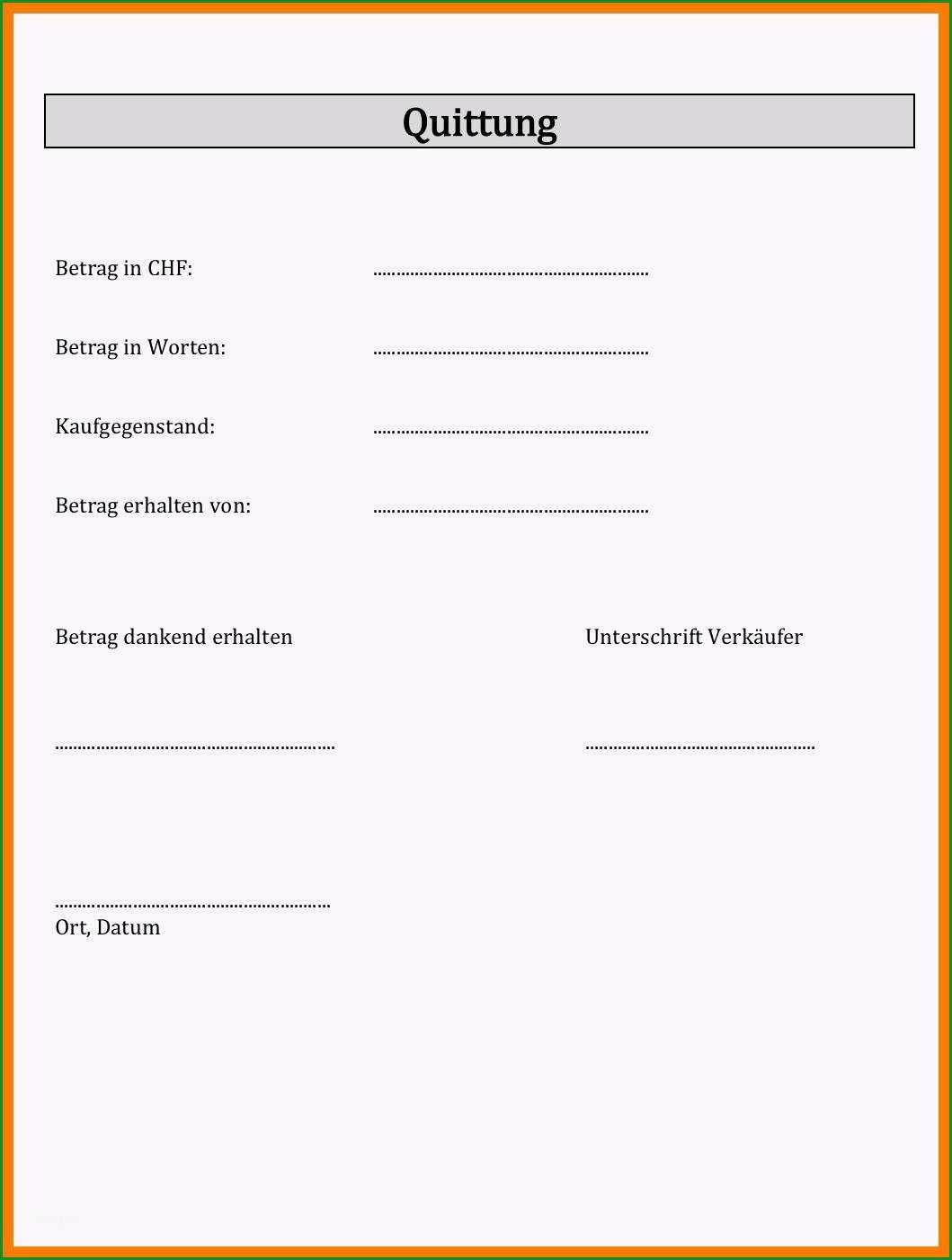 Fantastisch 12 Empfangsbestätigung Brief Muster