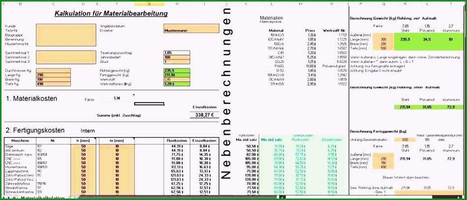 kalkulation excel vorlage kostenlos pviapd