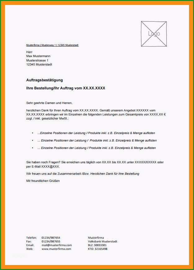 16 muster anfrage angebot