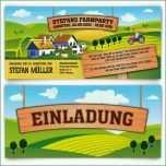 Fantastisch Einladung Kindergeburtstag Bauernhof Vorlage