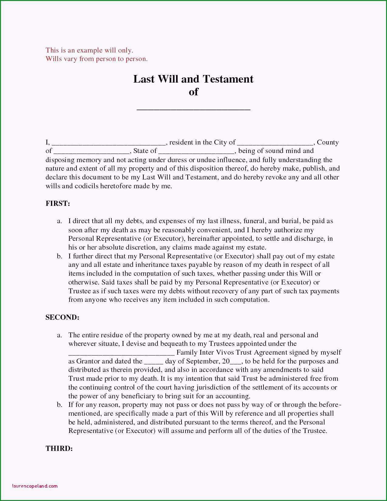 handschriftliches testament vorlage besten der testament muster alleinerbe 2