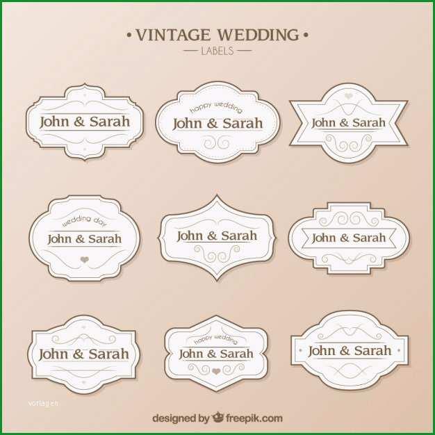 Fantastisch Hochzeit Etiketten Vorlage