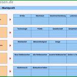 Fantastisch Marktanalyse Durchführen Und Marktprofil Erstellen – Excel