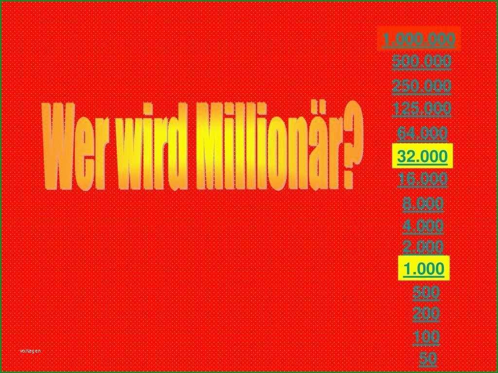 26 vorlage powerpoint prasentation wer wird millionar
