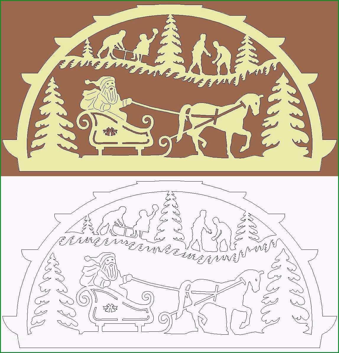 Schwibbogen Vorlage Weihnachtsfreude
