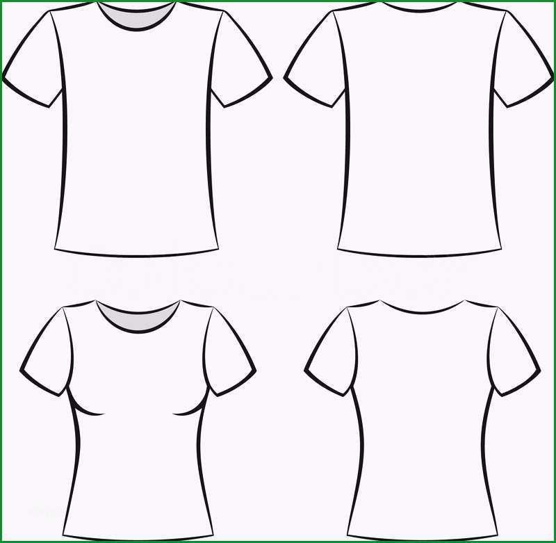 t shirt vorlage vektor