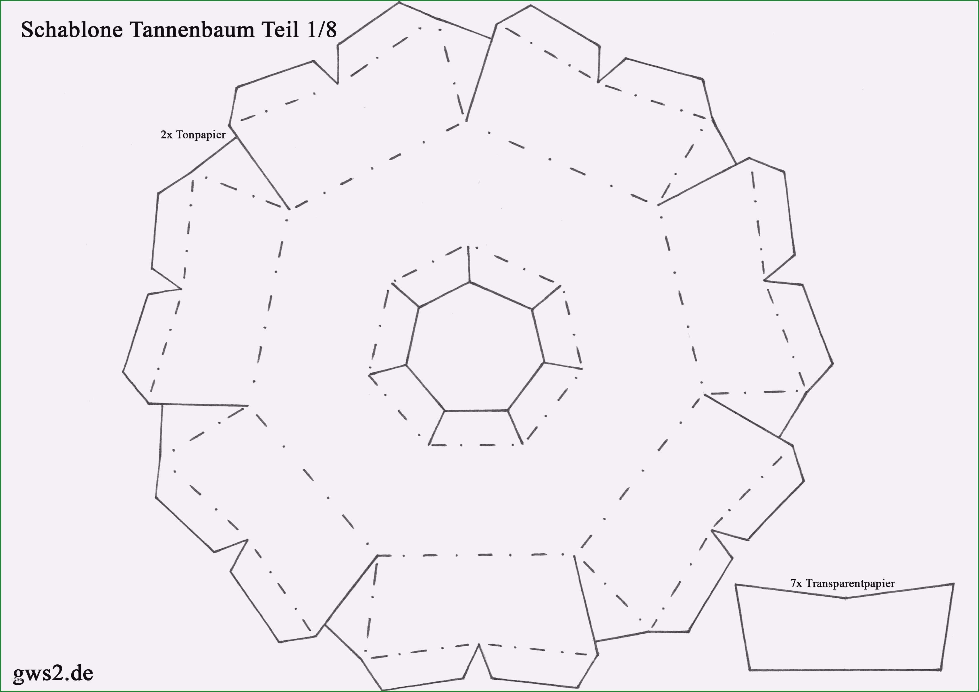 tannenbaum basteln papier vorlage