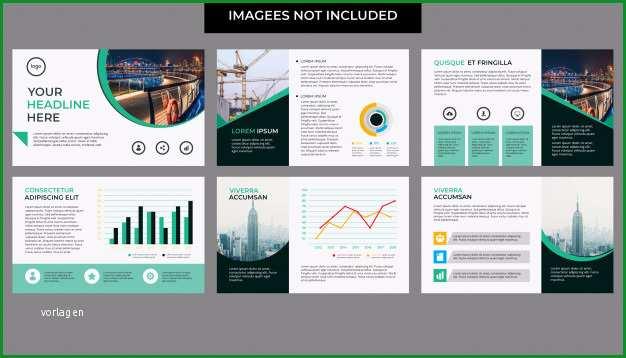 unternehmensprasentation mit infografik vorlage