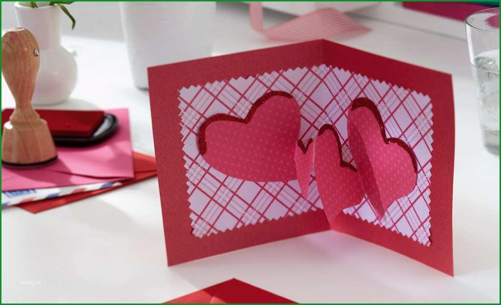 valentinstag gutschein basteln