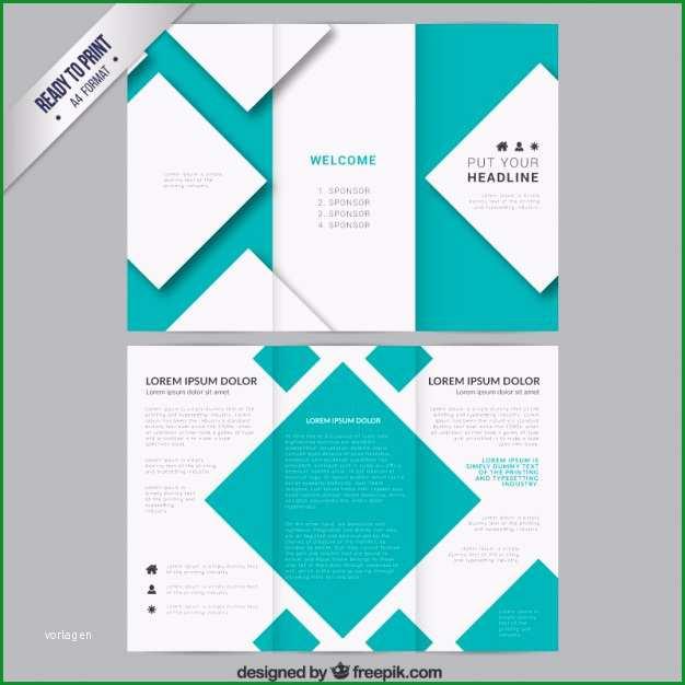 broschure vorlage mit quadraten
