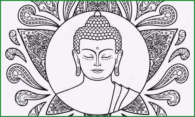 buddha kopf vorlage