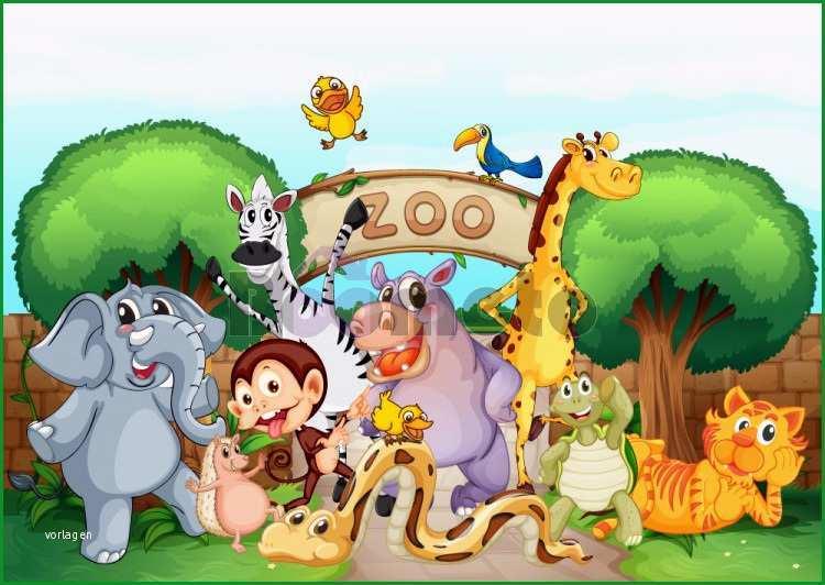 باغ وحش حیوانات تابلو