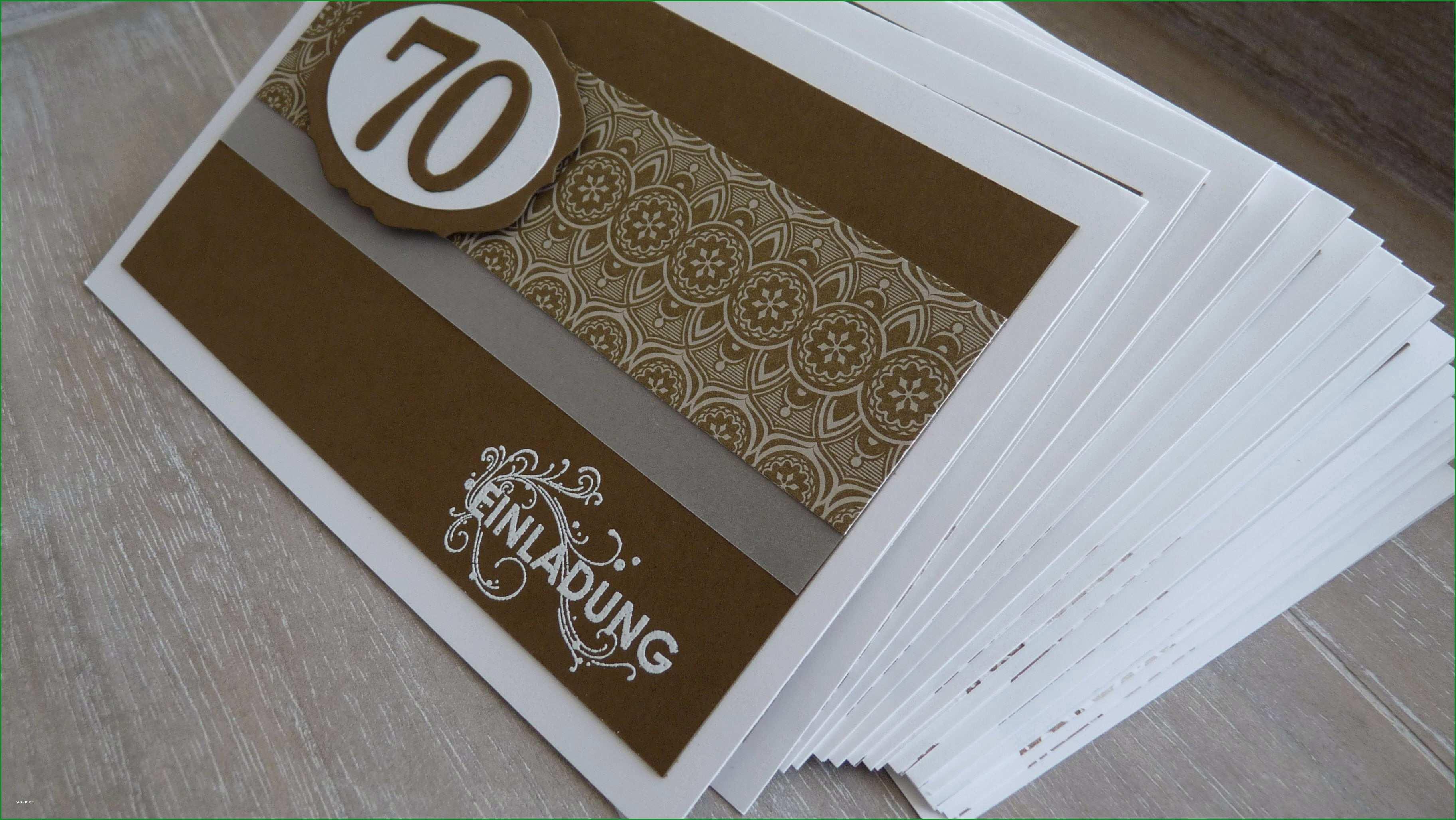 Faszinieren Einladung 70 Geburtstag Vorlage Kostenlos Einladungen