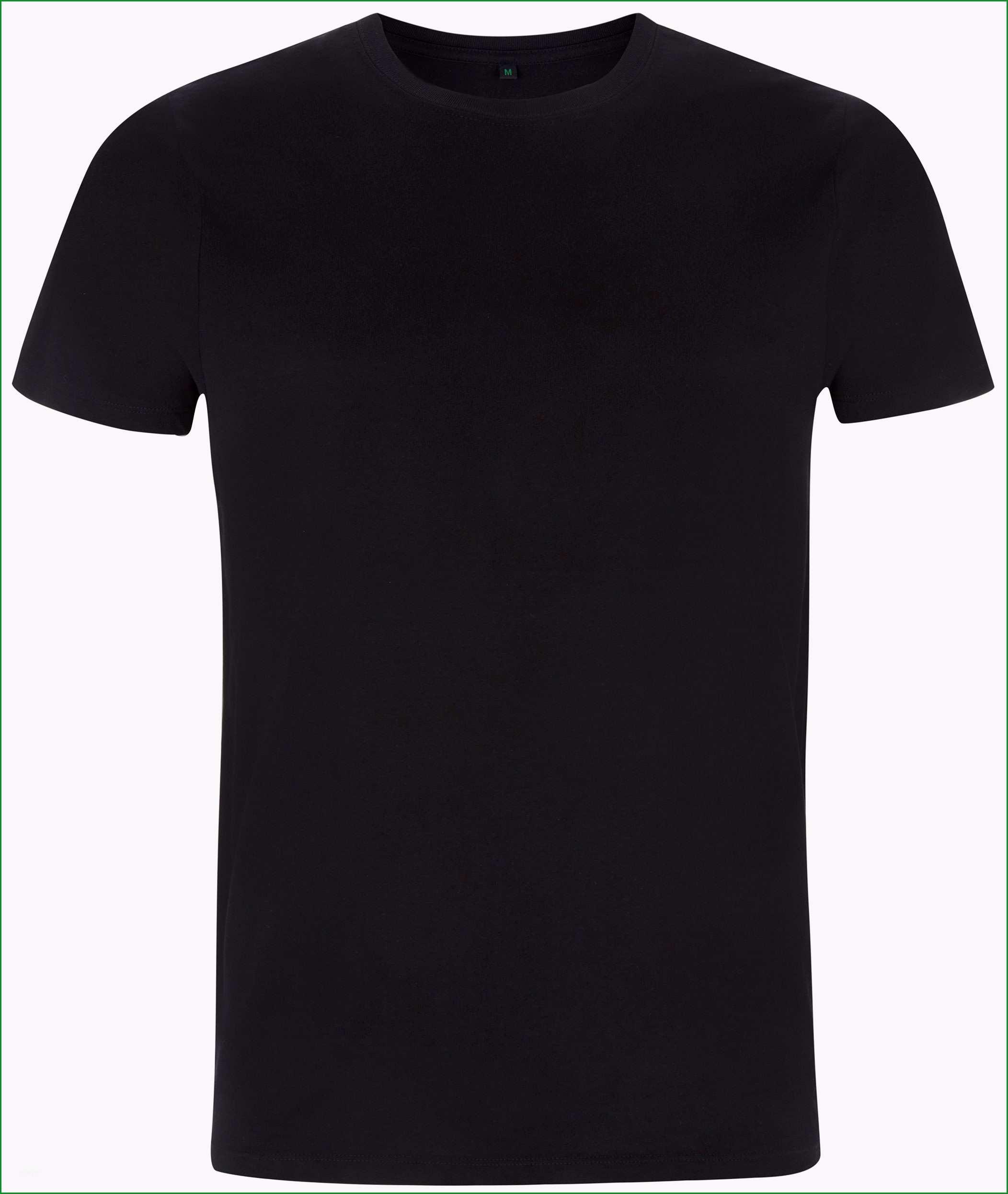 organic t shirt schwarz