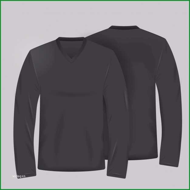 Faszinieren Schwarzes T Shirt Vorlage