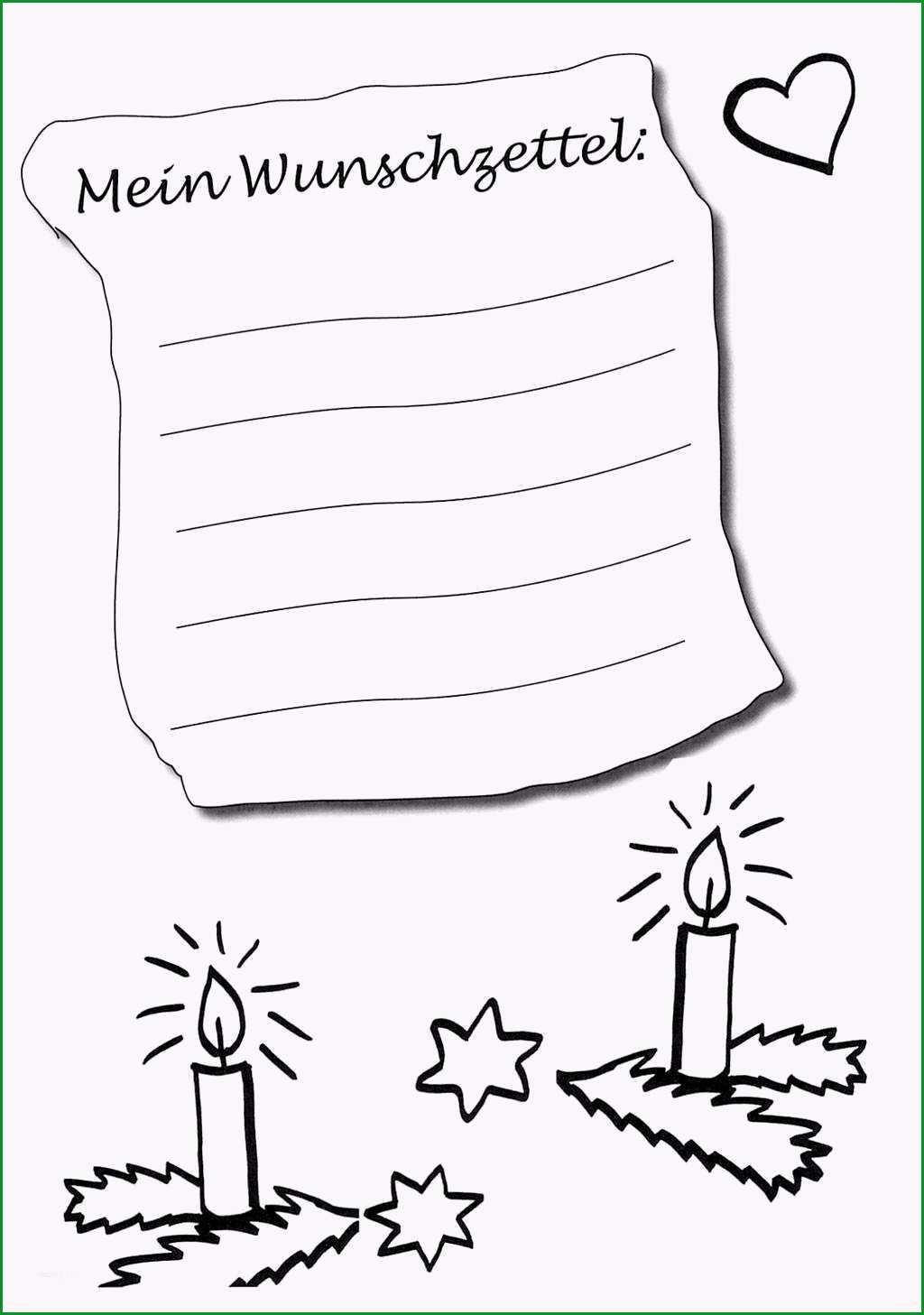 wunschzettel weihnachten vorlage cool kostenlose malvorlage wunschzettel fur weihnachten