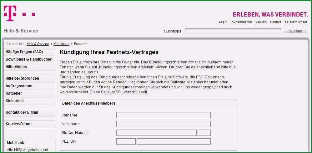 16 vodafone kundigung muster pdf